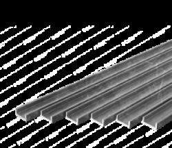 Швеллер гнутый 250х125
